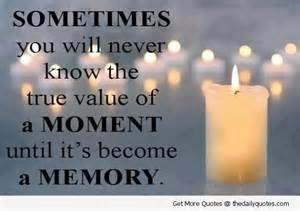 Value of a memory