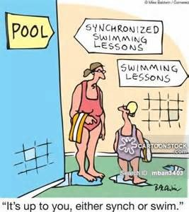 yearn to swim or synch